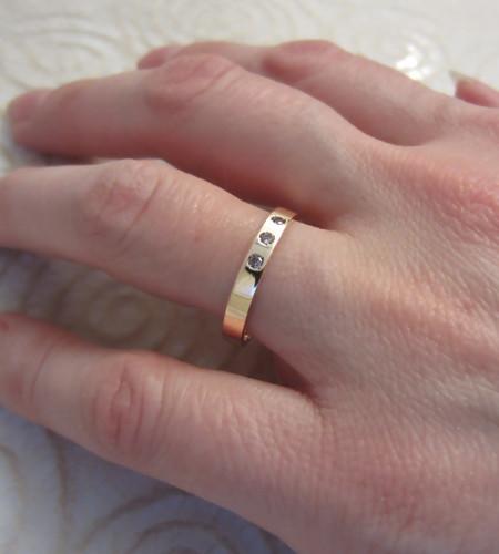 Alexandrite Gold Ring