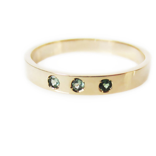 Alexandrite Gold Ring