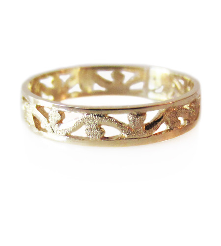 Baroque Handcrafted Wedding Ring